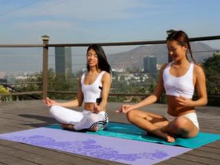 �p人玻璃女同瑜伽��
